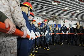 file us navy 120104 n ek905 053 sailors practice hose handling