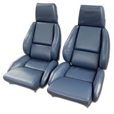 corvette seat covers c4 c4 corvette 1984 1996 leather like seat covers pair mounted
