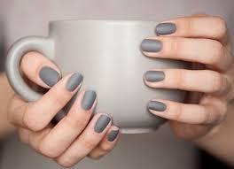 nail polish nails grey matte grey matte nail polish trendy