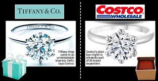 selling engagement ring vs the costco rings