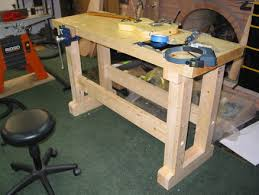 folding work table home depot workbench made of home depot spruce by lashing lumberjocks com