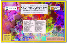 maine québec number theory conference 2015