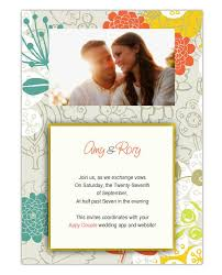 marriage invitation websites 6 places to send free online wedding invitations