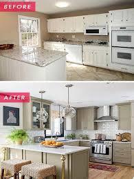 kitchen cabinet renovation ideas home dzine kitchen before and after kitchen renovations