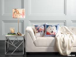 new custom photo lighting and pillows from lamps plus offer