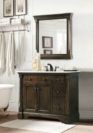 bathroom hickory bathroom vanity for durability and moisture