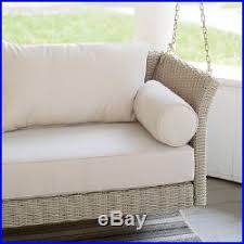 resin wicker deep seating hanging porch swing bed outdoor home