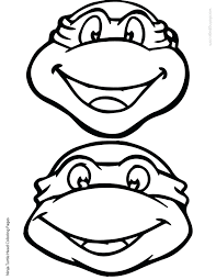teenage mutant ninja turtles coloring pages regard turtle