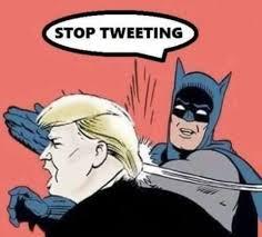 Batman Funny Meme - stop tweeting meme robins and batman