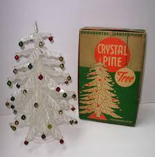 vintage 1950 s pine 11 tree complete in box