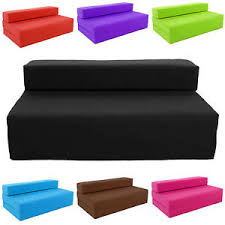 Block Filled Fold Up Sofa Bed Z Guest Foam Futon Mattress In - Fold up sofa beds