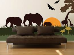 charming ideas safari wall decor attractive inspiration beetling