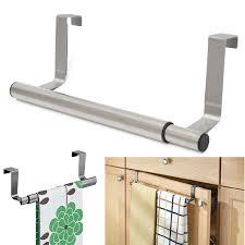 Kitchen Cabinet Towel Bar Over The Cabinet Towel Bar Towel