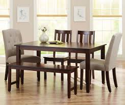 Dining Room Table And Chair Sets by Better Homes And Gardens Bankston 6 Piece Dining Set Mocha