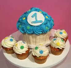 1st Birthday Halloween Cake by Smash Cakes U0026 Giant Cupcakes 3 Sweet Girls Cakery