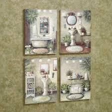 vintage bathroom wall art trio print bathroom rules wall decor