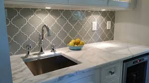 Kitchen Backsplash Glass Taupe Arabesque Glass Mosaic Tiles Tiles Online Tile Stores And