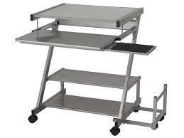 meuble pour ordinateur de bureau meubles pour ordinateur et imprimante table portable conforama