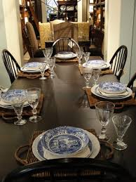 34 thanksgiving décor ideas with blue digsdigs