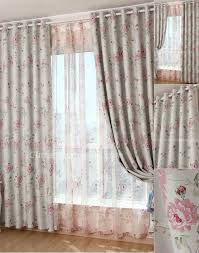 Country Curtains Promo Code Romantic Eco Friendly Floral Printing Style Country Curtains Sale