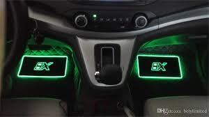 app controlled car lights 2018 car interior atmosphere l floor mats led decorative l app