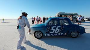 renault dauphine engine renault returns to bonneville after 60 years breaks another speed