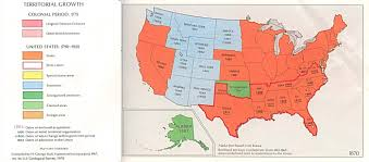 Confederate States Map by United States Territorial Growth Map 1870 Full Size
