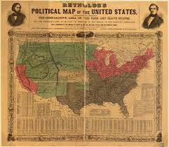 Map Of West Coast Of America And Canada by Abolition Anti Slavery Movements And The Rise Of The Sectional