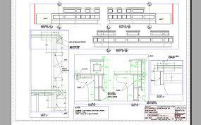 Reception Desk Cad Voloshen Designs