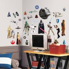 amazon com roommates rmk1586scs star wars classic peel and stick from the manufacturer