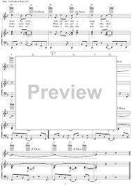 They Say The Neon Lights Are Bright On Broadway On Broadway Sheet Music Music For Piano And More