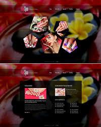 nail salon website template website themes website and salon