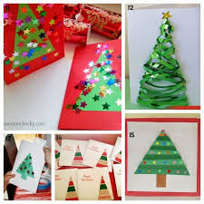 Christmas Decoration To Make At Home Learn With Play At Home 25 Christmas Card Ideas Kids Can Make