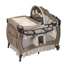 amazon com baby trend deluxe nursery center haven wood baby