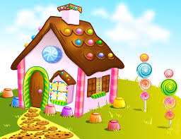 halloween candy background drawn candyland dream by helenlight candy landscape pinterest