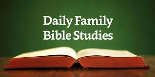 daily family bible studies year 1 week 1