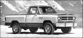 dodge ram 1988 pickuptruck com history segment eleven 1981 to 1988 lifestyle
