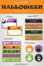 free halloween birthday party invitations free printable halloween party pack it u0027s a mother thing