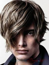 short in back longer in front mens hairstyles funkyhaircutshairstylevoluminise hair haircuts pictures