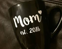 expecting mothers gifts est 2017 mug etsy