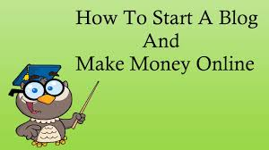 Make Money Online Blogs - how to start a blog and make money online 2016 youtube