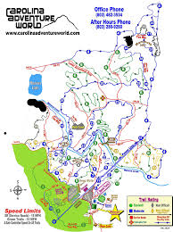 Race Map Carolina Adventure World Trail Map Guide