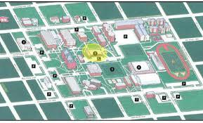 Kansas State University Campus Map by Marni Craig U0027s Blog Ohio Wesleyan Campus Map