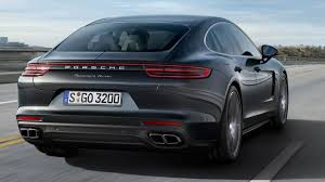 porsche panamera interior 2017 2017 porsche panamera must be psychic because it can see the future