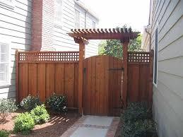 Fence Ideas For Backyard by Best 20 Arbor Gate Ideas On Pinterest Yard Gates Garden Gates