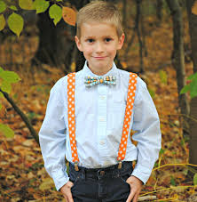 boy s bow tie and suspenders set bowtie suspenders ring