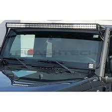 52 inch led light bar cover flashtech black led light bar dual row 52 inch