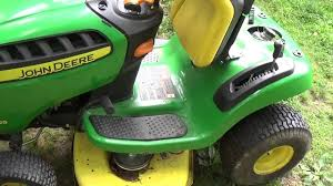 d105 john deere auto transmission problems youtube