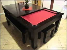 Home Design Ideas With Pool by Great Pool Table Dining Conversion Top 55 For Home Decorating