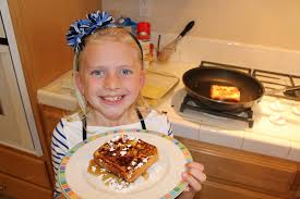 kid size cooking french toast youtube